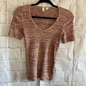 Anthropologie MOTH SS Sweater Size Small